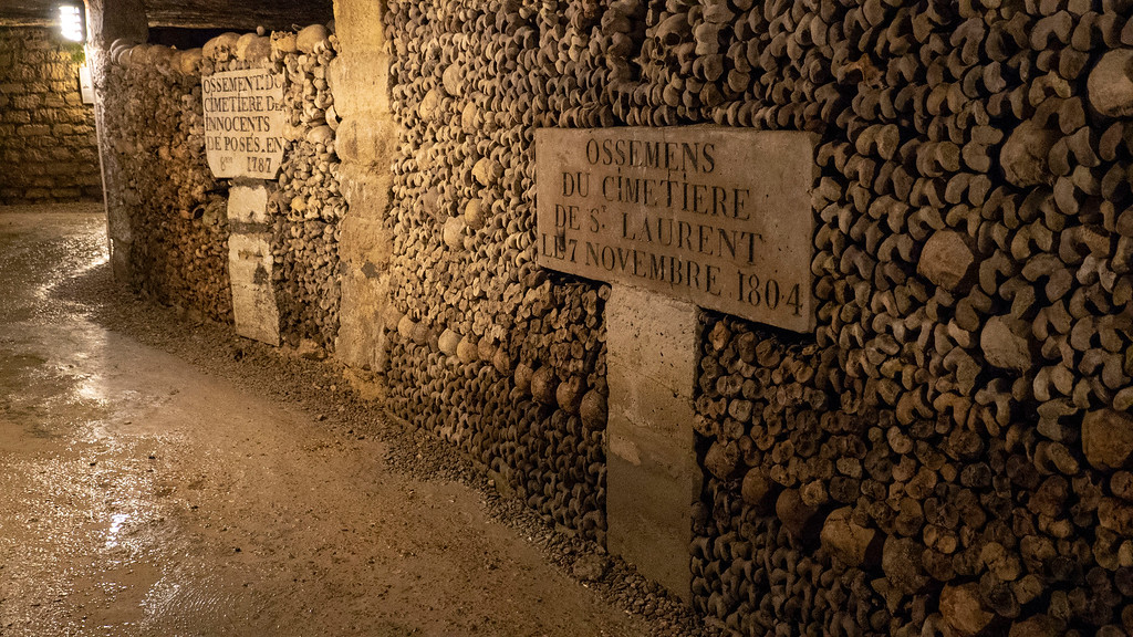 Paris Catacombs Tour - Visit the Catacombs of Paris, France - World's largest grave