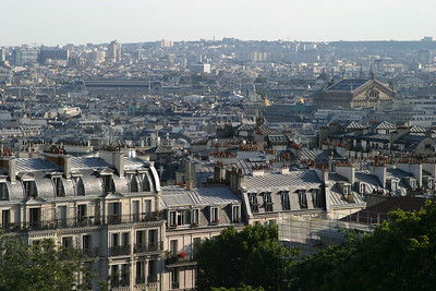 View from Montmartre.