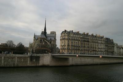 Notre Dame et l'Île de la Cité