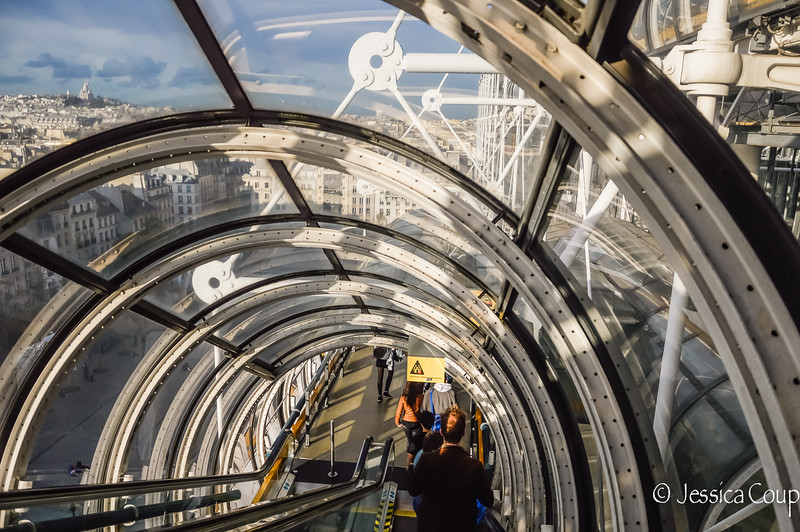 Tunnels of the Pompidou