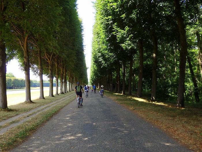 Biking Versailles with Fat Tire Paris