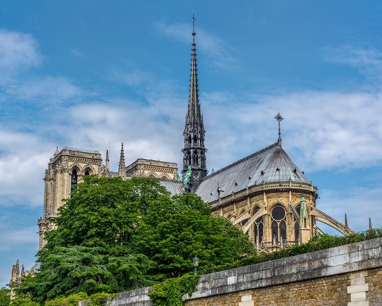 Spike of Notre Dame de Paris