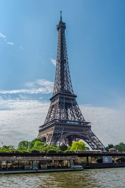 Eiffel Tower from Siene