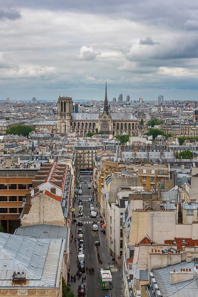 Notre Dame de Paris from Pantheon