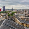 Flag, Tower and Paris