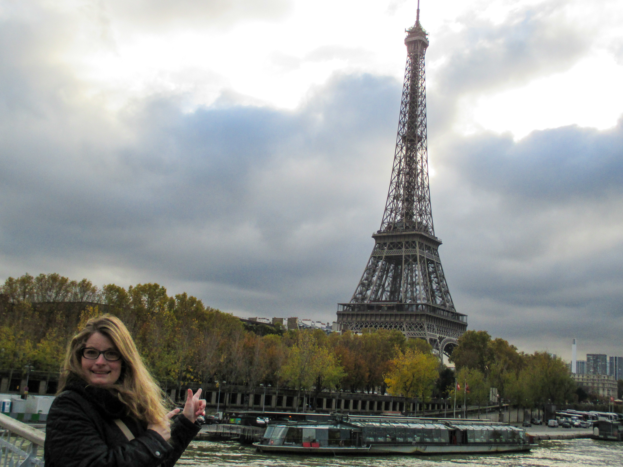 traveling to paris for the first time gave me lots of memories