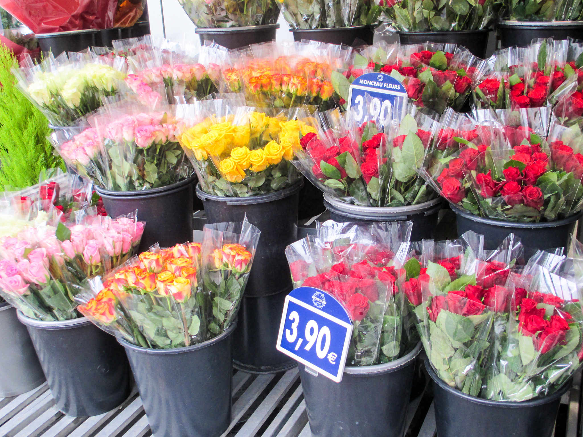 buy some flowers while completing your paris in 2 days itinerary