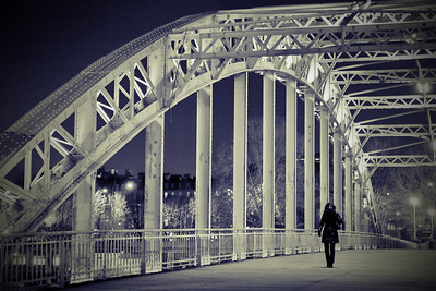 Passerelle Billy - Paris (France)