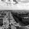 Panorama from Arc de Triomf
