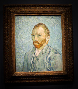 Self Portrain, Van Gogh