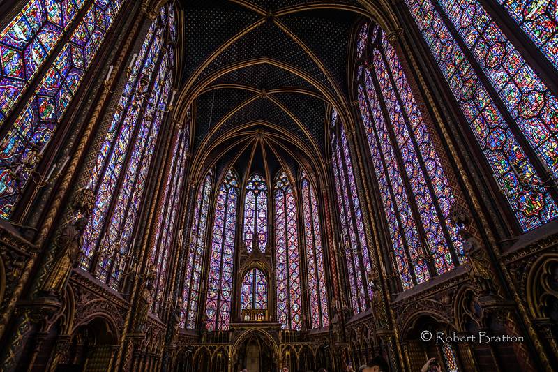 Overwhelming Stained Glass Windows<br /> of Sainte-Chapelle