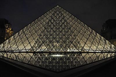© Felipe Popovics Pyramide du Louvre