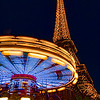 Vivid Eiffel Tower and Carousel