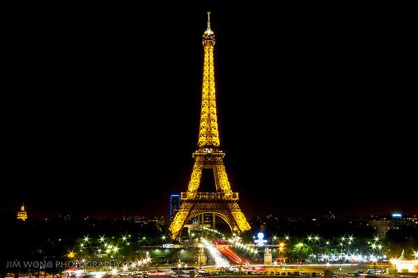 Eiffel Tower III, Paris