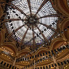 Dome inside Galeries Lafayette Department Store