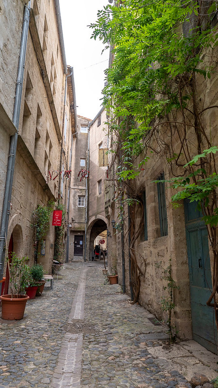 Pezenas in the South of France: Old Town