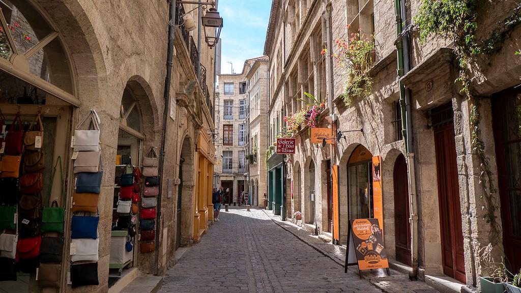 Medieval town of Pezanas, France