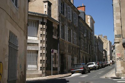 The Streets of Poitiers