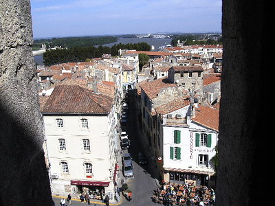 View of Arles from Ampitheatre