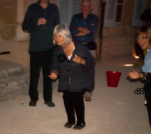 September 2011 Pierre's Boules Game  Les Alpilles Provence