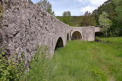 Pont sur l'Artuby à la Souche