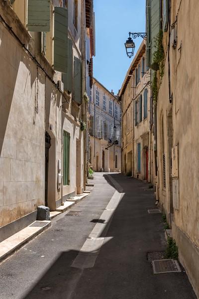Narrow Street and Lantern