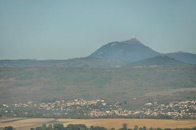 Le Puy de Dôme vu de Montpeyroux