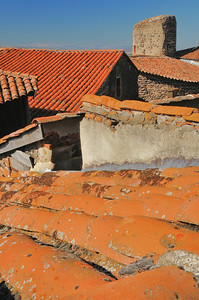 Usson par les toits