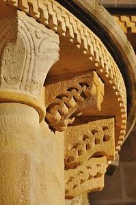 aint-Saturnin - Détail de l'église Notre-Dame
