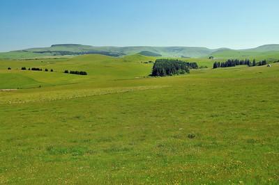 Le paysage autour de Brion