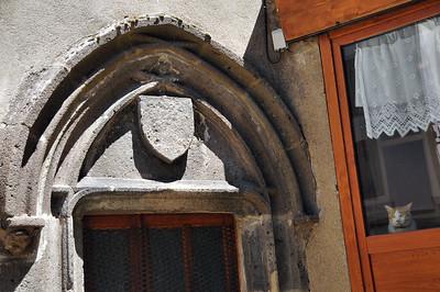 Besse-en-Chandesse - Détail médiéval
