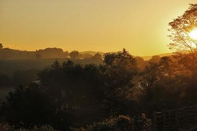 L'aube à Sare