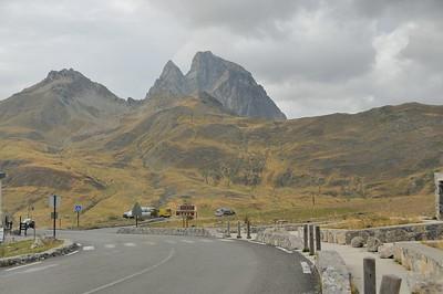 Col du Pourtalet - Le Pic du Midi d'Ossau (2.884 m), version grisaille