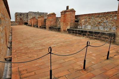 Fort de Salses - Cavalier d'artillerie méridional