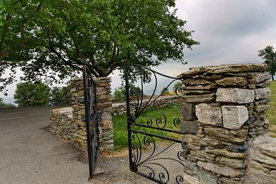 Portail de l'Eglise San Michele de Murato (Corse - Balagne)