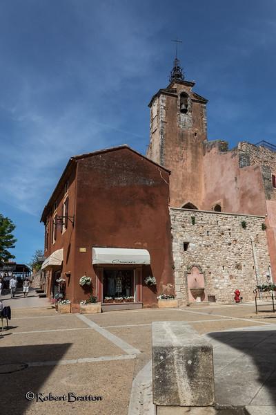 Beffroi in Roussillon