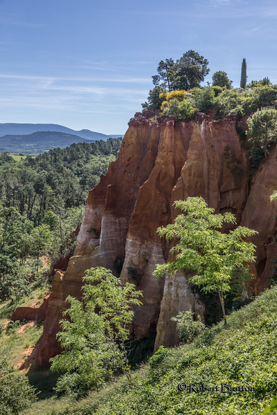 Red Cliffs of the Ochre Quarries