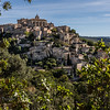 View of Gordes from Roussillon