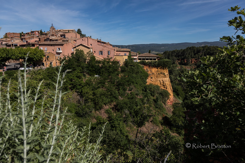 View of Roussillon
