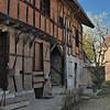 Romenay - Rue Saint-Loup - Maison des Gardes et tour de guet