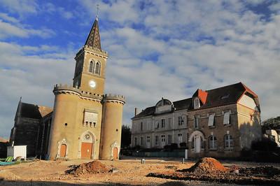 Eglise Saint-Isidore à Saint-Désert