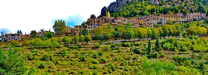 Sainte-Agnès:  Perched Village in the Alpes-Maritimes