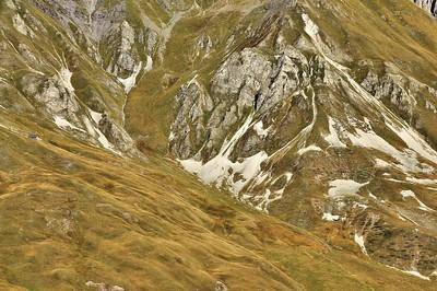 Descente du col du Galibier - Le chalet perdu