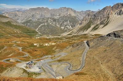 La route savoyarde du col du Galibier