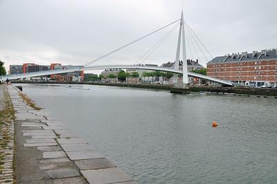 Le Havre - Passerelle du bassin du Commerce