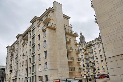 Le Havre - Rue Paul Doumer - L'architecture d'Auguste Perret