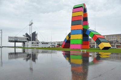 """Le Havre - Quai Southampton - Sculpture """"La Catène"""""""