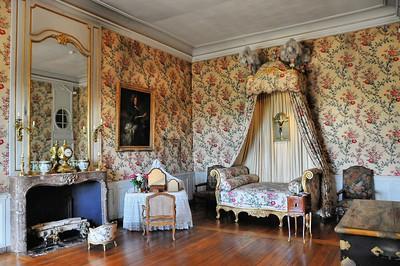 Château de Vaux-le-Vicomte - Chambre Louis XV