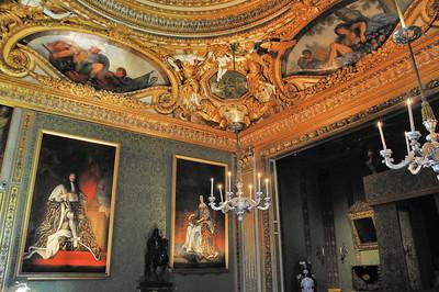 Château de Vaux-le-Vicomte - Chambre du Roi
