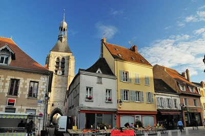 Provins - Place du Maréchal Leclerc - Tour Notre-Dame-du-Val